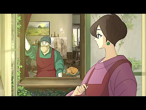 Studio Ghibli Inspired Hand Animated Game Where You Paint Your Masterpiece - Behind the Frame