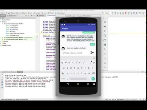WatBot: A Voice-enabled Android Chatbot