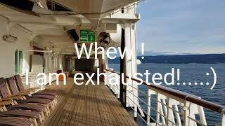 Holland America Zaandam ship tour Alaska  cruise