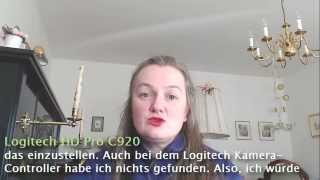 Listening: Webcam-Test (Microsoft LifeCam Studio VS Logitech HD Pro C920) - Learn German easily