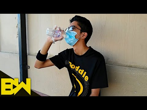Outdoor Mask Police Guy | Comedy Skit | BroWinners