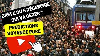 #186 Grève du 5 décembre 2019, qui va céder ? - Bruno Voyance Macron Retraites Sncf Ratp