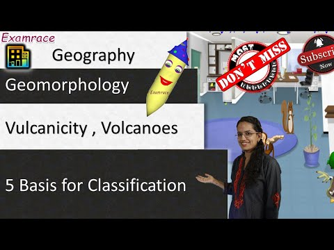 Vulcanicity, Volcanoes - Types and 5 Basis for Classification