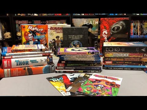 Graphic Novel, Omnibus, Hard Covers, TPBs and Manga October 2018 Haul