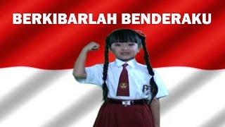 Lagu Anak BERKIBARLAH BENDERAKU - Lagu Nasional Indonesia 🔥 TERBARU