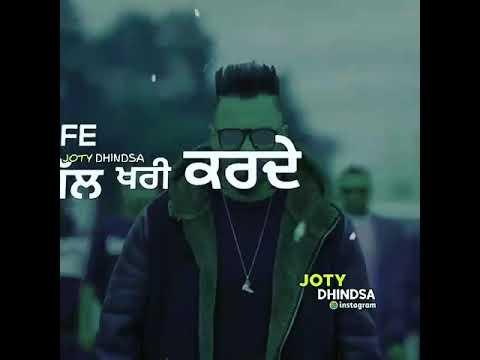 Adha pind gurj sidhu new song status video latest 2018