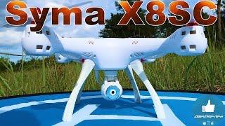 ✔ Новый Квадрокоптер 2017 - Syma X8SC с Барометром и Камерой! 79.99$ на Gearbest!