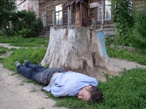 пьяные русские деревенские