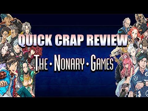 Quick Crap Review | Zero Escape The Nonary Games