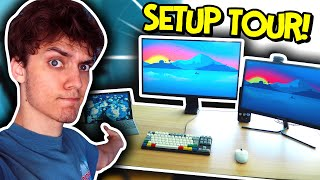 My New Setup!  (Dani Setup Tour 2020)