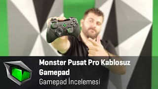 Monster Pusat Pro Kablosuz Gamepad inceleme - Uygun fiyatlı kablosuz gamepad!