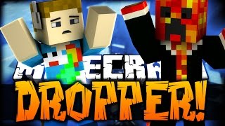 Minecraft: THE DROPPER - HELICOPTER CRASH?! (Custom Parkour Map) W/ PrestonPlayz
