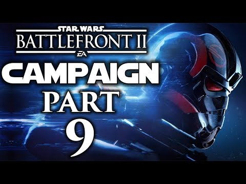 """Star Wars Battlefront II - Let's Play (Campaign) - Part 9 - """"Under Covered Skies"""""""
