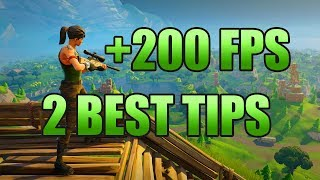 Fortnite: 2 CRUCIAL TIPS TO INCREASE FPS WITHOUT SACRIFICING QUALITY (ACTUALLY USEFUL TIPS)
