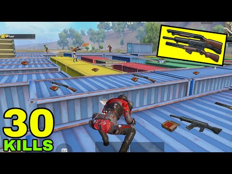 Can I Survive With ONLY SHOTGUNS? | PUBG Mobile