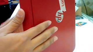 how to open HP x360 n100tu