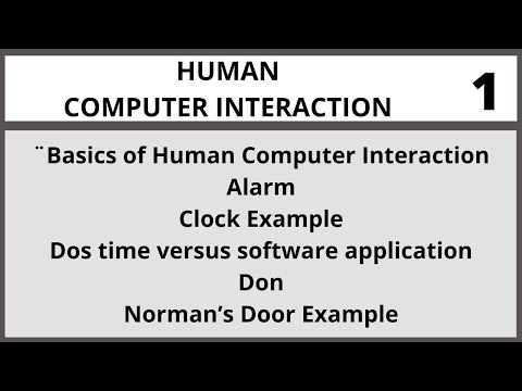 Human Computer Interaction Lecture 1 in Urdu| Hindi I Vcomsat