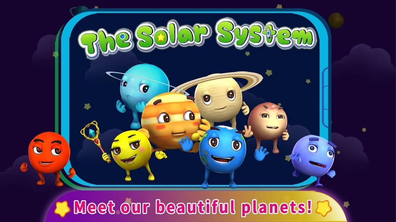 The Solar System For kids Educational Android İos Free Game ...