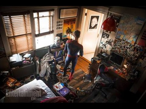 Amazing Spiderman Wallpaper Quotes Peter Parker S Bedroom Featured In Captain America Civil