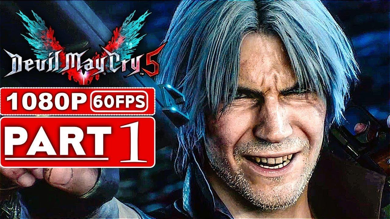 TEUFEL MAI SCHREI 5 Gameplay Walkthrough Teil 1 [1080p HD 60FPS Xbox One X] - Kein Kommentar (DMC 5) + video