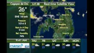 Parasat Weather Update Cagayan de Oro City: November 22, 2012