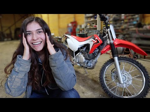 I SURPRISED MY GIRLFRIEND WITH HER 1ST MOTORCYCLE! (*SHE CRIED*)