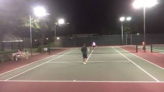 Tennis w Mario part 2 09/22/17