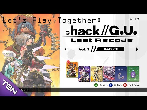 Let's Play Together: .Hack//G.U. Reminisce Last Recode [016] Reminisce Final