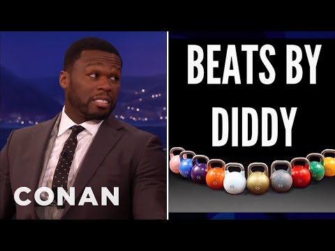 "Curtis ""50 Cent"" Jackson Made Fun Of P Diddy  - CONAN on TBS"