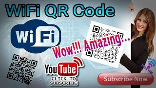 إنشاء رمز الاستجابة السريعة واي فاي يجب أن يشاهد!!