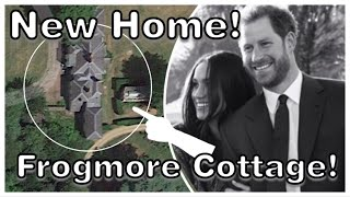Kensington Palace CONFIRM Harry & Meghan OFFICIAL Residence - FROGMORE COTTAGE!