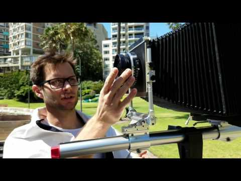 How to Shoot an 8x10 Large Format Portrait with Hugo Sharp in Sydney (Like Richard Avedon)