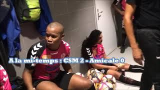 ⚽️ -Télé CSM- Le  -CSM- toujours en tête après sa nette victoire 4 à 0 face à  l'-Amicale-   ⚽️