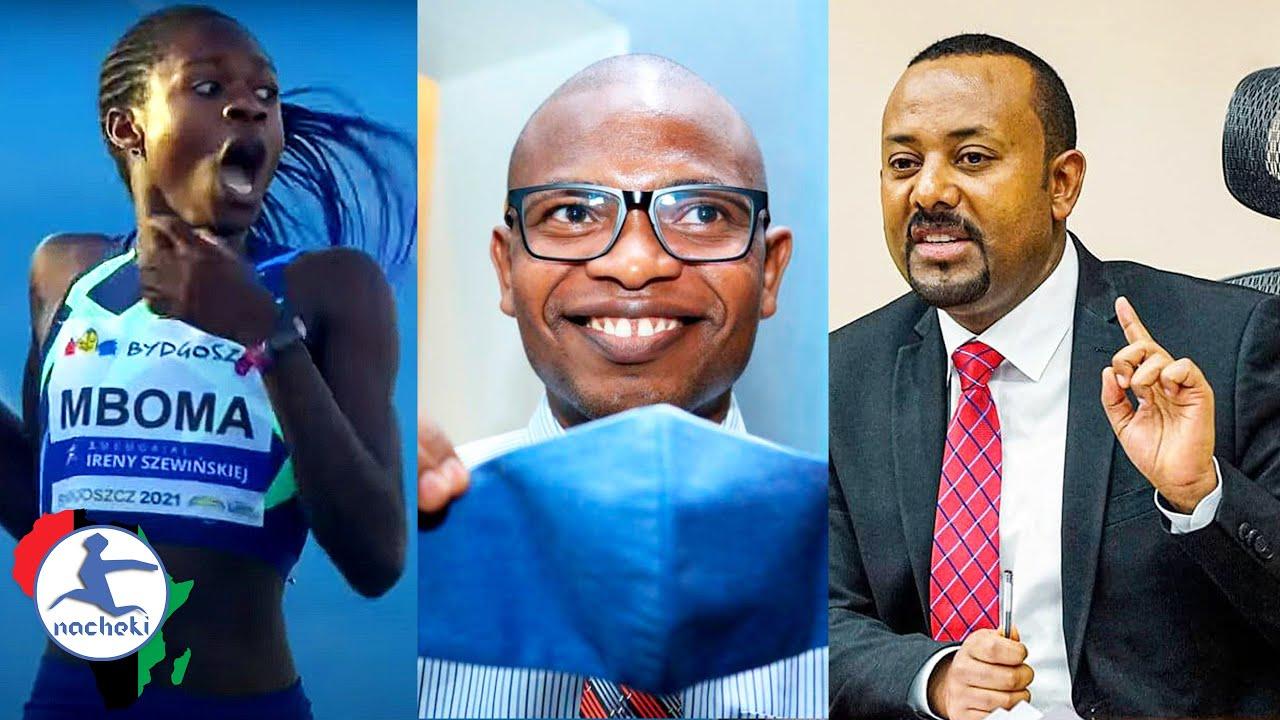 Namibia Calls Out World Athletics, Kenyan Scientist Creates Nano masks, Ethiopia Warns Arab States
