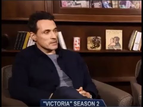 Rufus Sewell on Lord Melbourne and women (Vicbourne) Victoria