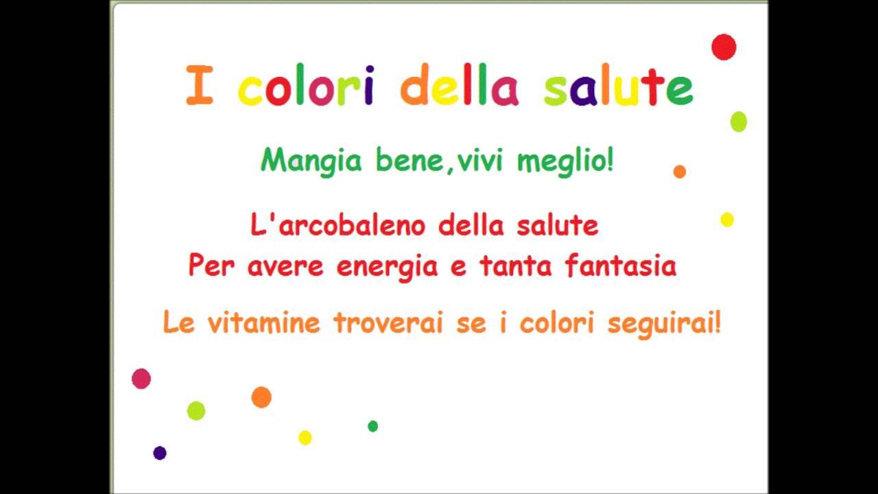 I colori della salute