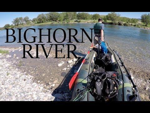 Fishing Kayak Adventure on the Bighorn River! (Fishing Montana)