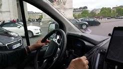 My Dad Navigating Paris' Arc de Triomphe Roundabout in an 8 Passenger Van