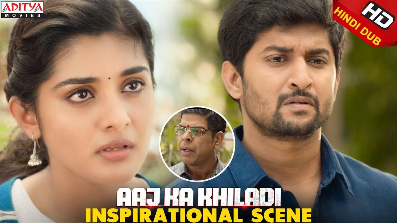 Download An Inspirational Message About Marriage Aaj Ka Khiladi Movie Scene || Nani, NivethaThomas