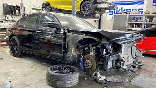 Tearing Down The BMW M5 F90 - Episode 2