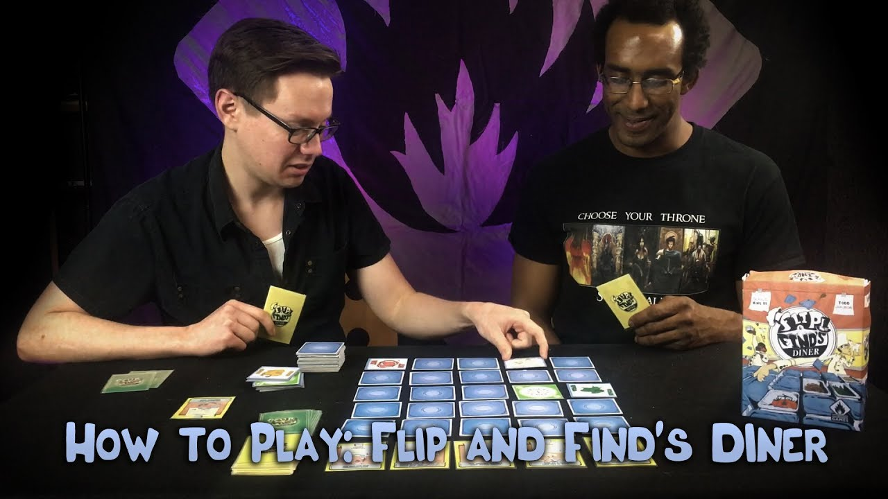 How to Play Flip & Find's Diner – Tabletop game tutorial