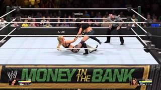 WWE 2K 15: 1v1 Friendly match...\Special DIVAS\ |Alex Aggelis