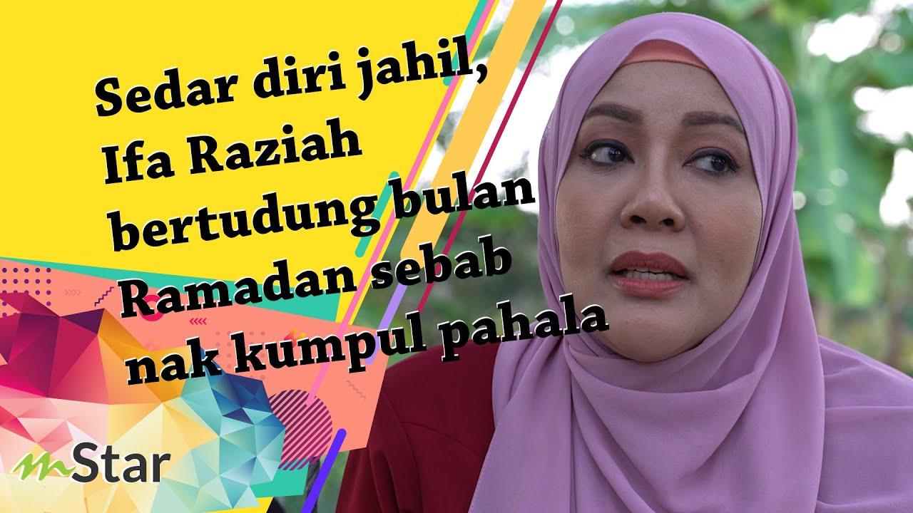 Sedar diri jahil, Ifa Raziah bertudung bulan Ramadan sebab nak kumpul pahala