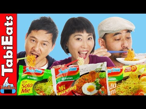 Thumbnail: Japanese Try Indonesian Instant Noodles for the First Time EPIC TASTE TEST