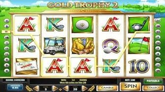 Kostenloser Gold Trophy 2 Spielautomat von Play n Go Video Vorschau | HEX