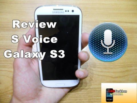 Review S Voice Galaxy S3 (Español) (Comandos de voz)
