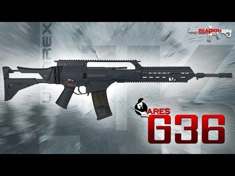 [Review] Ares/Umarex HK G36 (EFCS 2019) Heckler & Koch 6mm Airsoft/Softair (German/DE)
