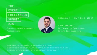 Insurance   What do I need?   The Event Freelancer Summit 2020