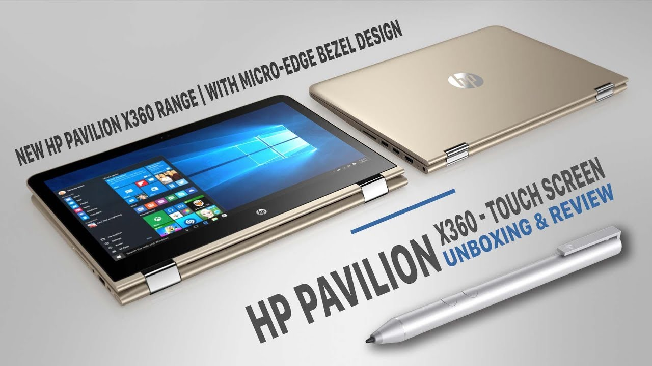 Hp Pavilion X360 14 Dh1025tx Unboxing Review Youtube