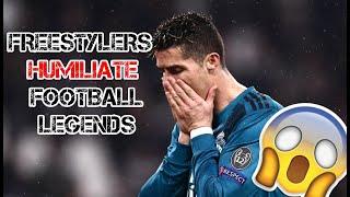 Freestylers Humiliate FOOTBALL STARS! HD